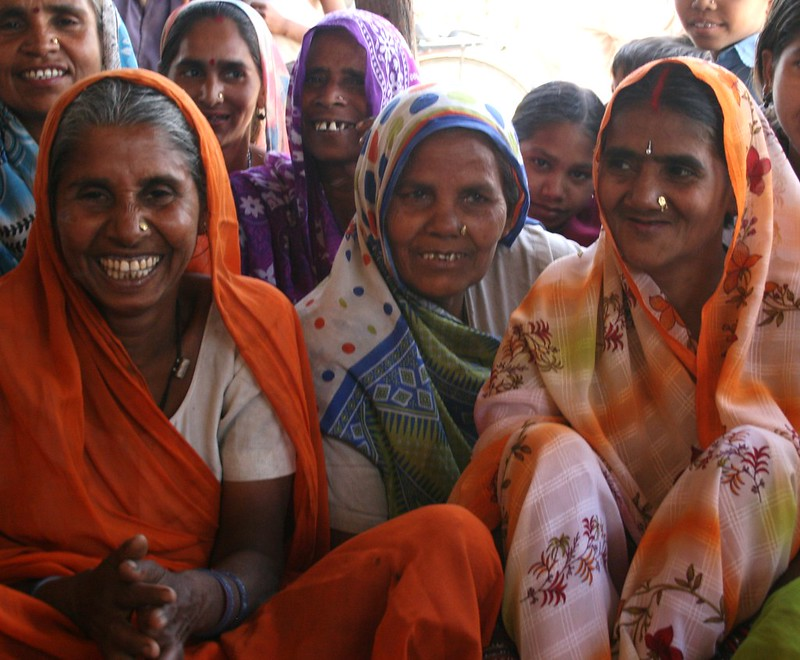 Women power India, Indian women in Rajasthan north India