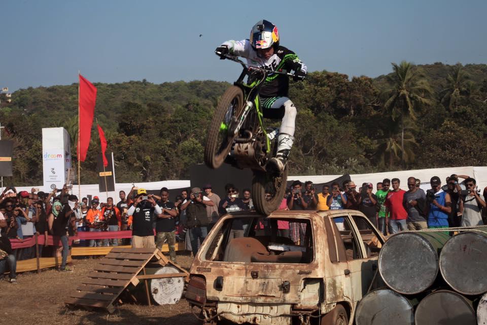 India Bike Week - Dougie Lampkin