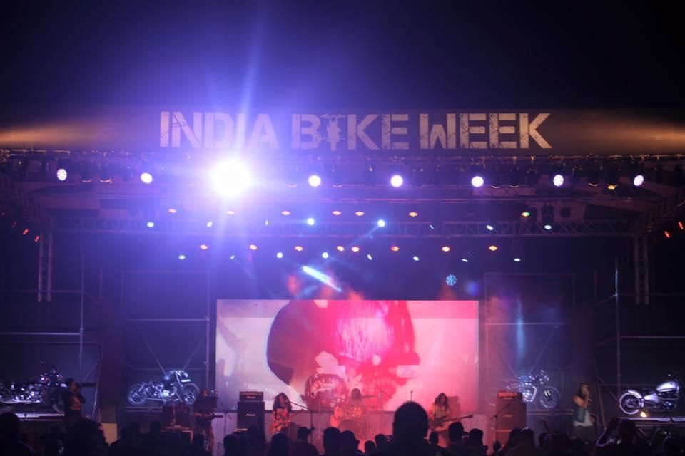 India Bike Week - Live Performance
