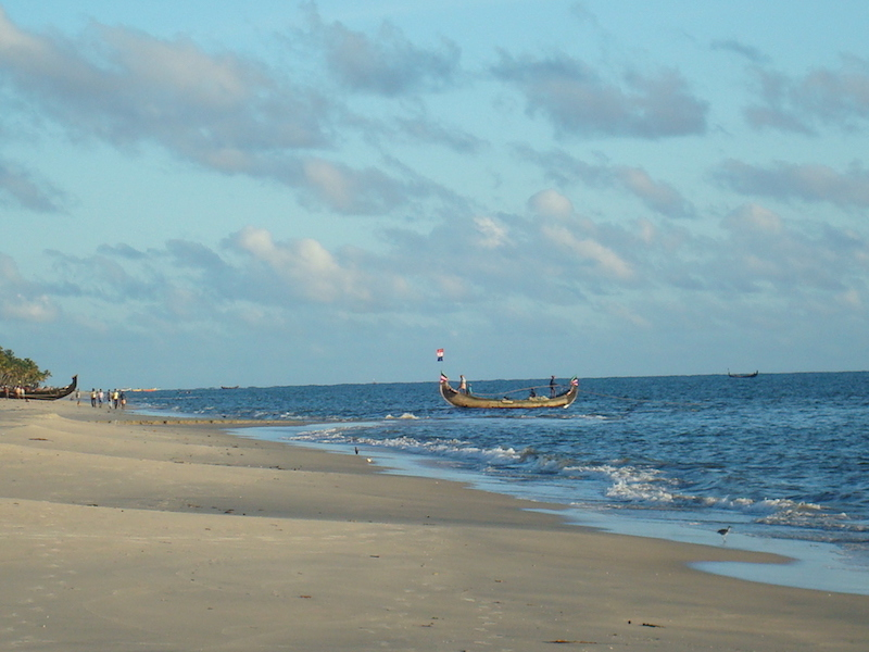 Beach, lesser-known, fishing boats, boats, marari,