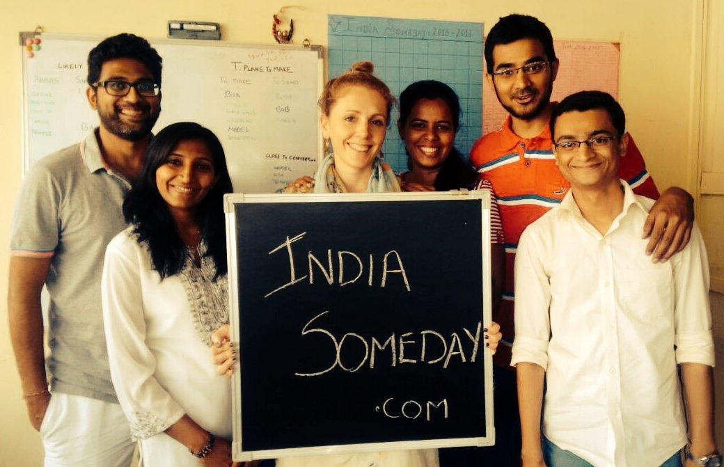 india Someday Team, Praktikum in Mumbai