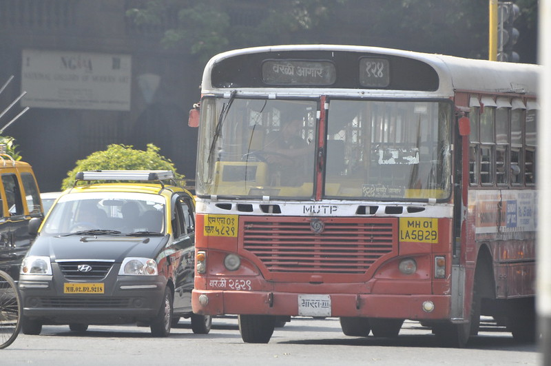 Mumbai's Public Transport System, local buses in Mumbai