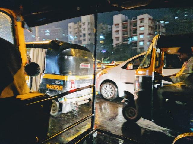 Auot rickshaws in Mumbai