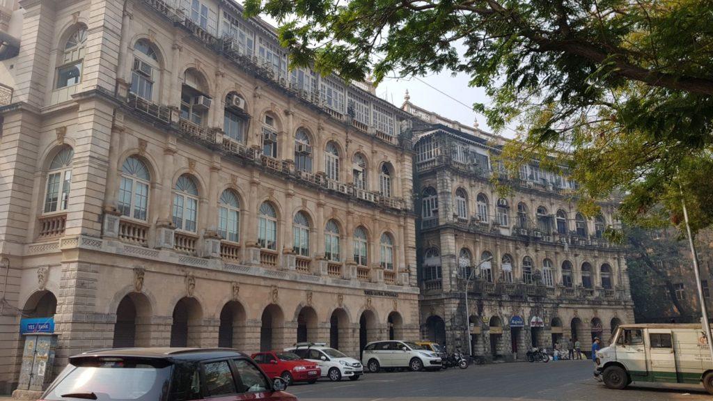 Histoire de Bombay- quartier britannique