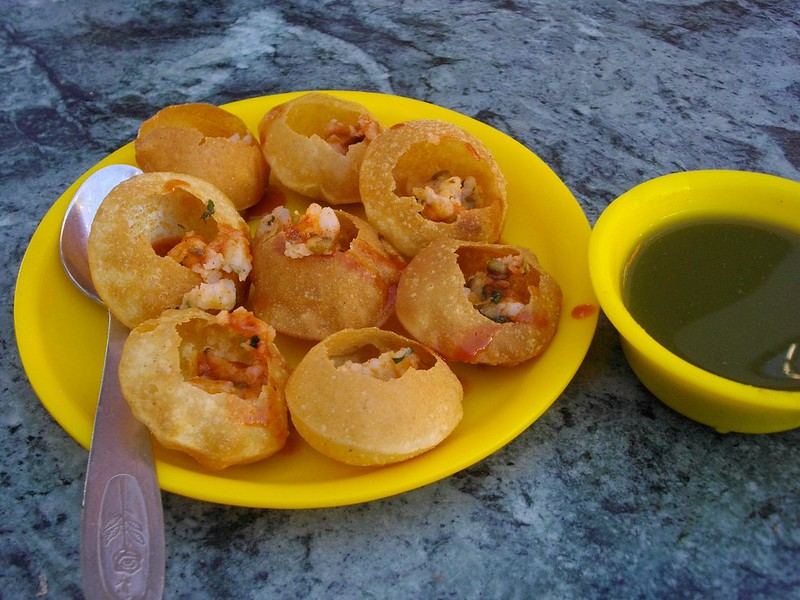 Pani Puri, Delecious local street food