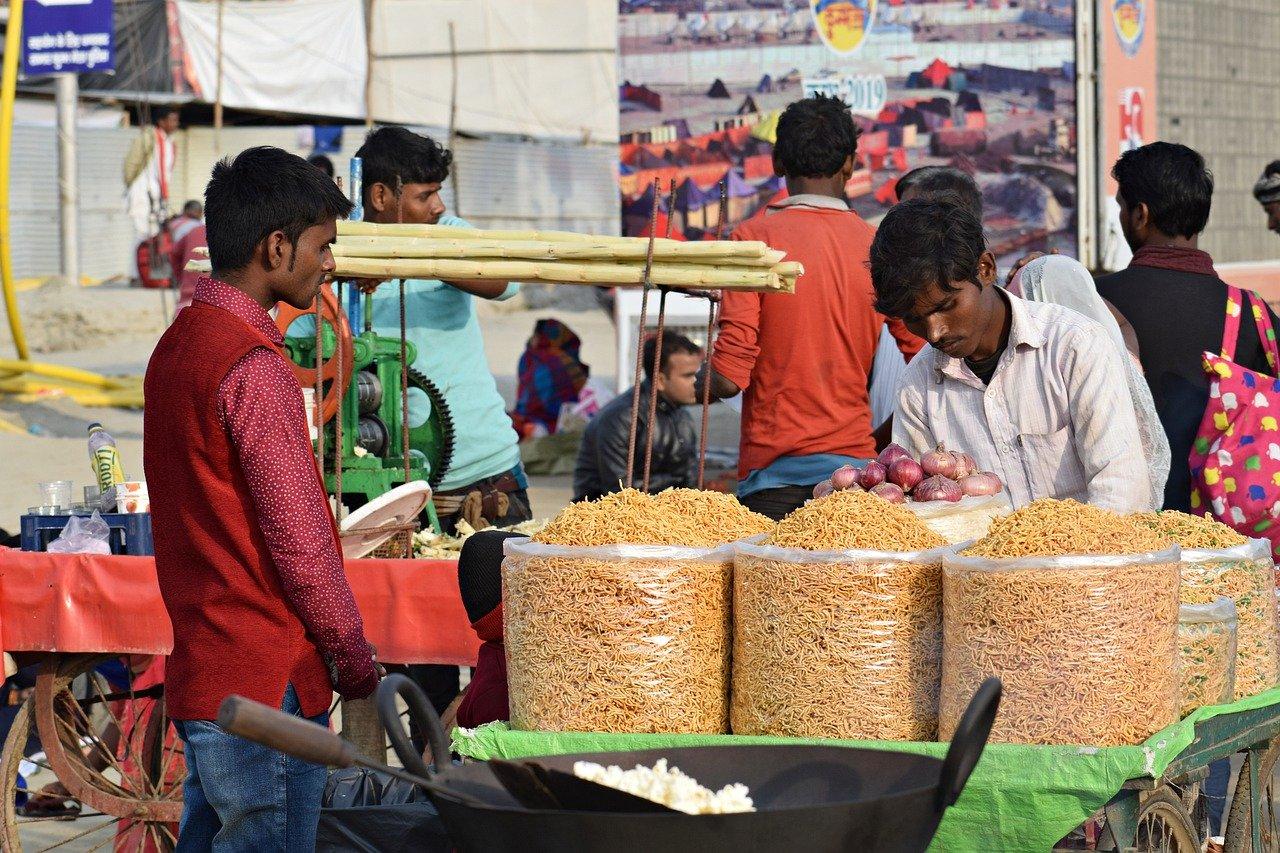 Street food in Jaipur