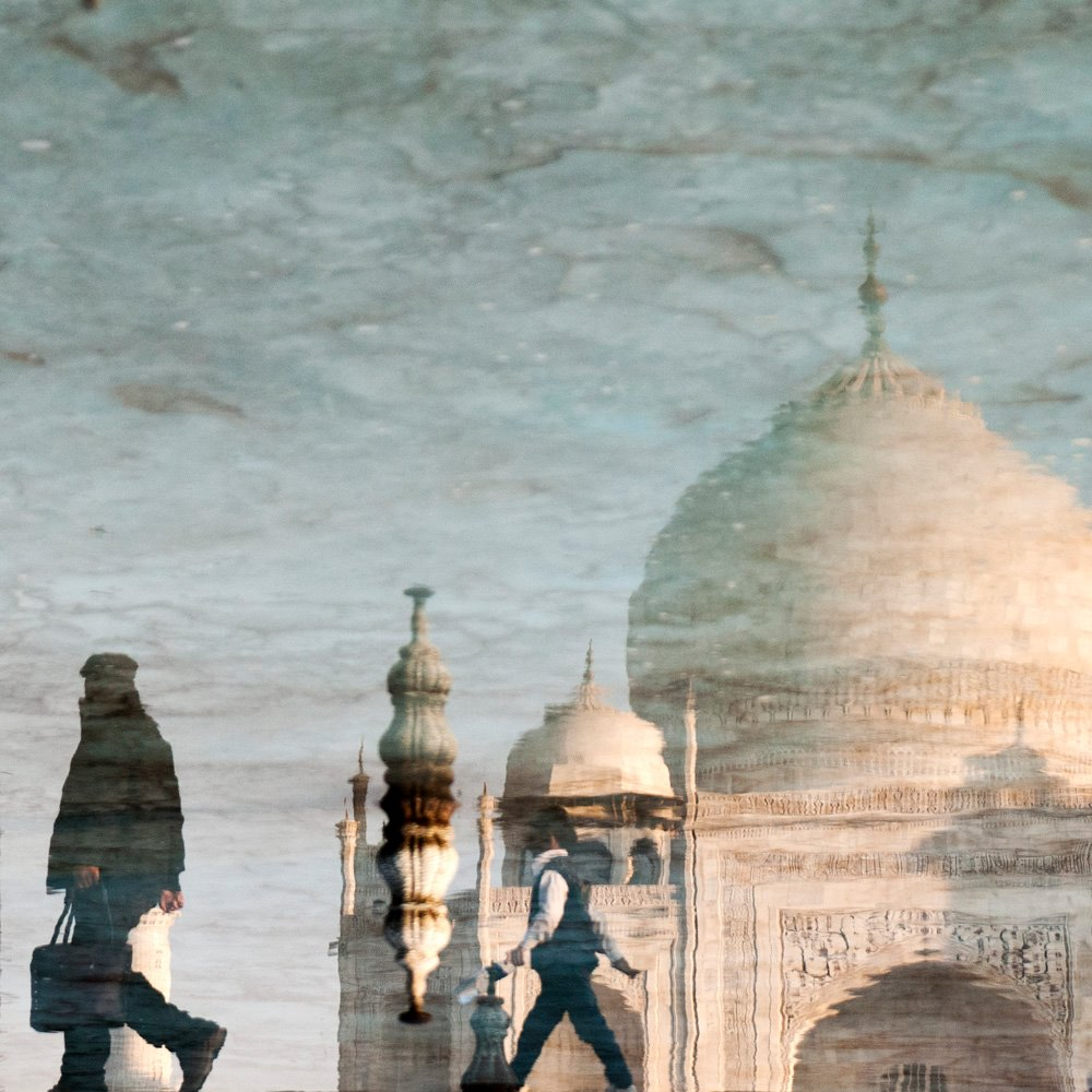 The iconic Taj Mahal in Agra is an essential stop for every visitor to India. Photo Credits - Valerie Deidenhofen