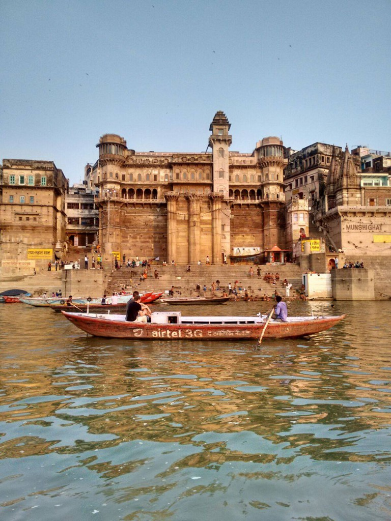 No Varanasi experience is complete without a sunrise boat ride on the Ganges, and a few of our suggested train routes take you through this spiritual city
