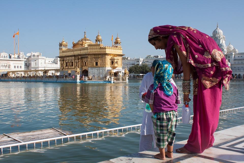 Le Temple d'Or a Amritsar