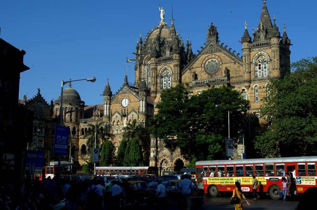 CST Mumbai,Railway Station