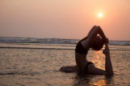 Iyengar yoga in indien
