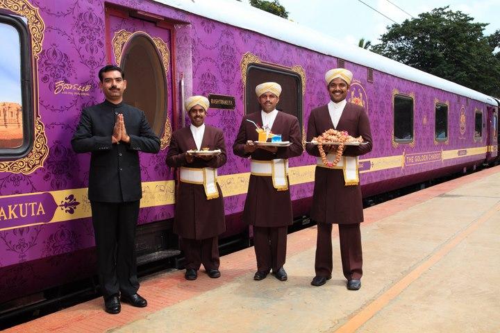 Les trains luxueux en inde