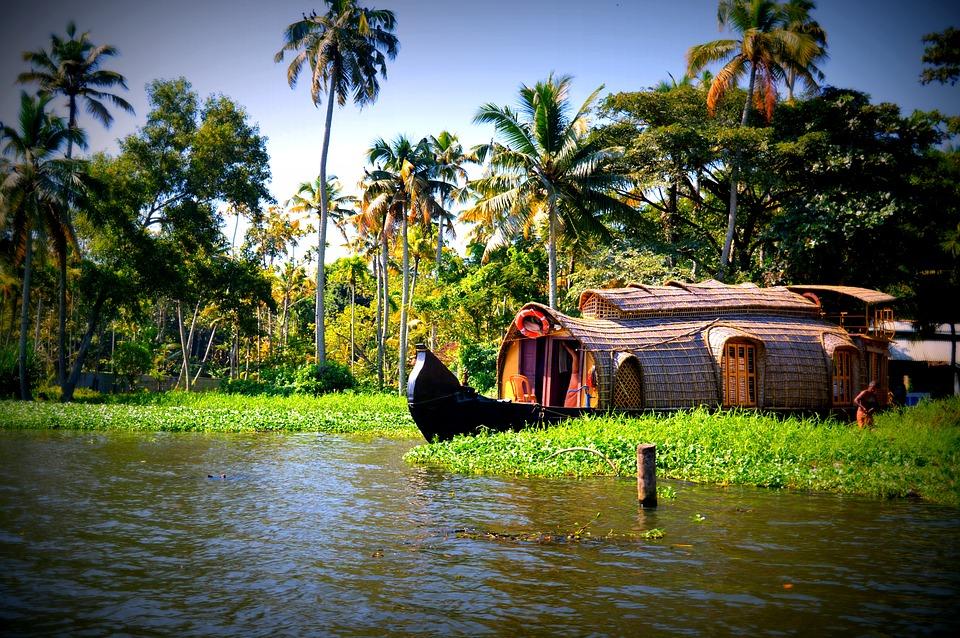 Les Backwaters du Kerala