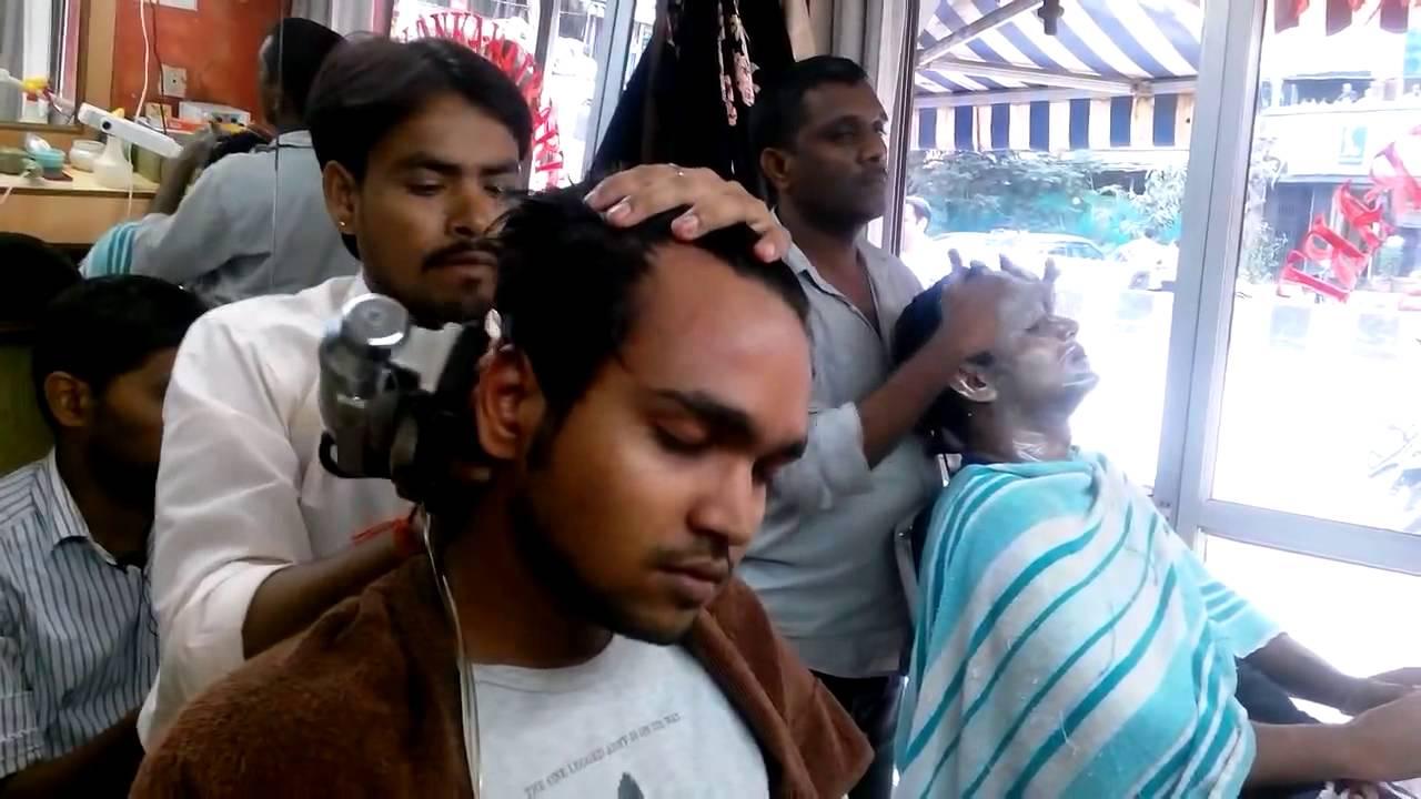 Les salons de beaute et barber shop en Inde