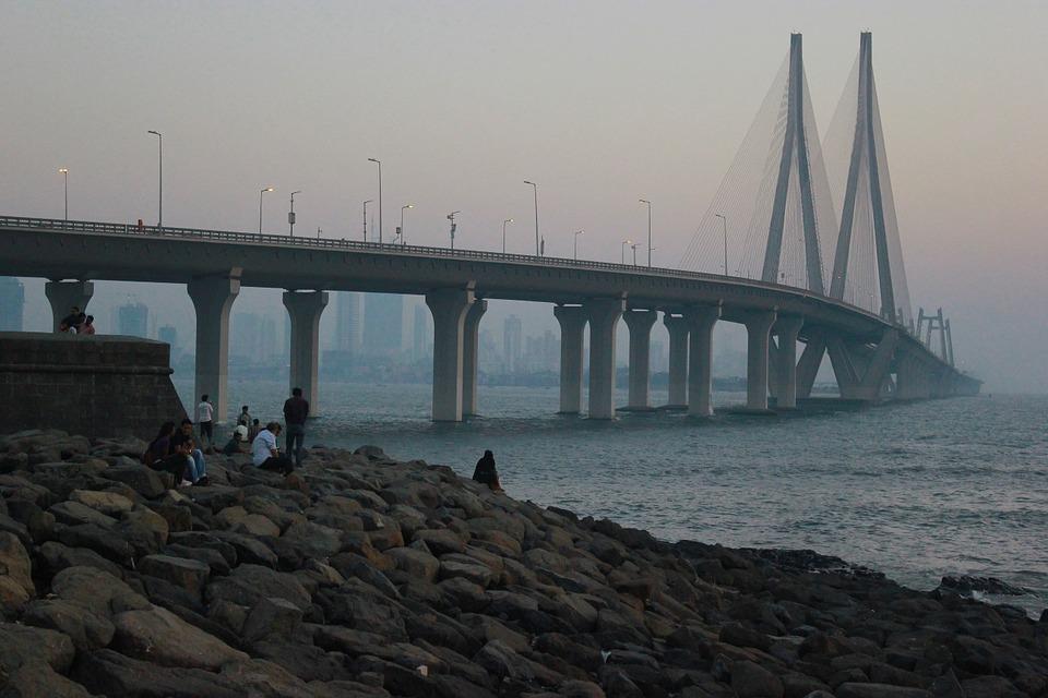 Le front de mer de Mumbai