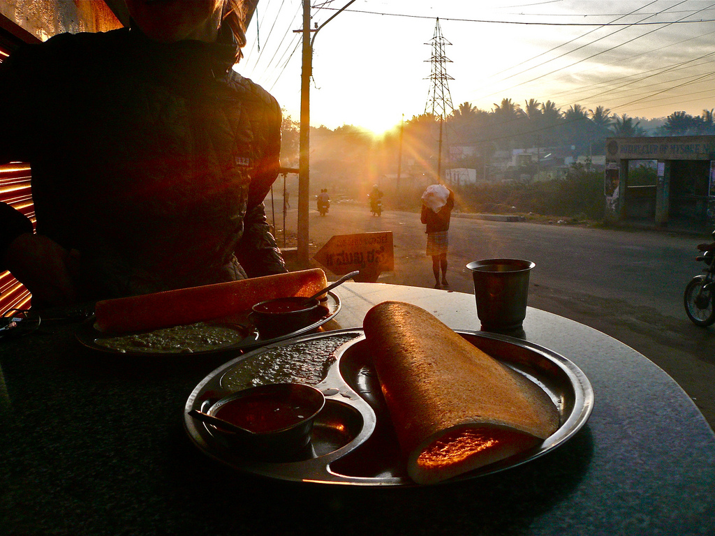 Indienreise: Essen in Südindien