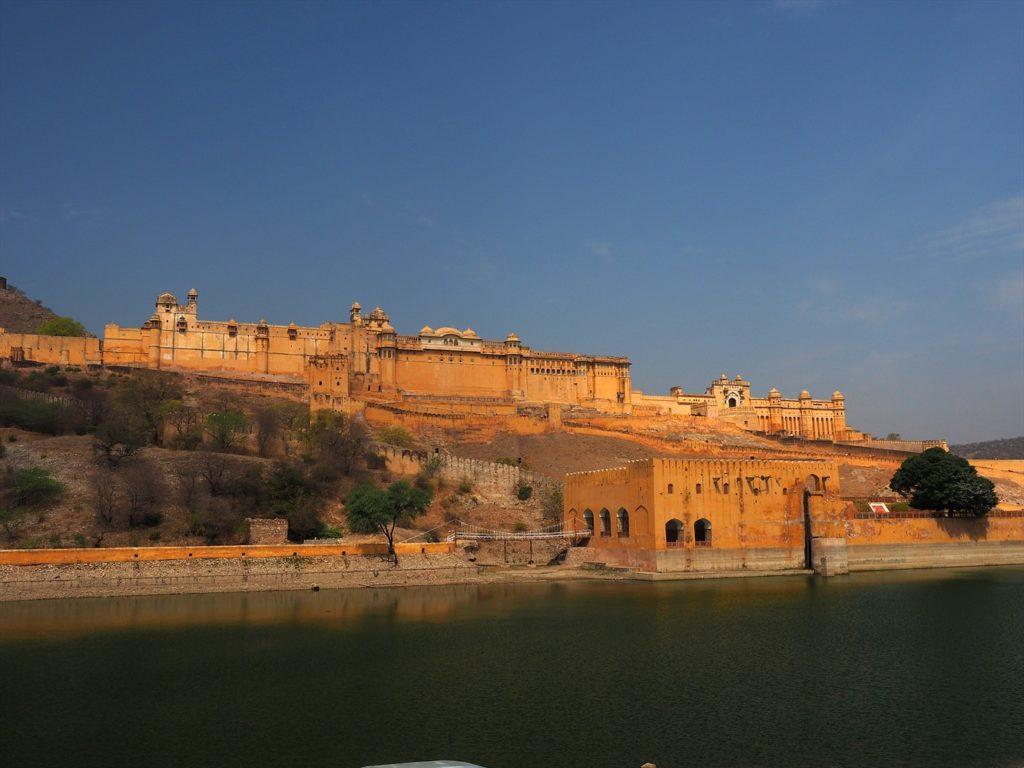 OÙ ALLER EN INDE- fort de Amer à Jaipur