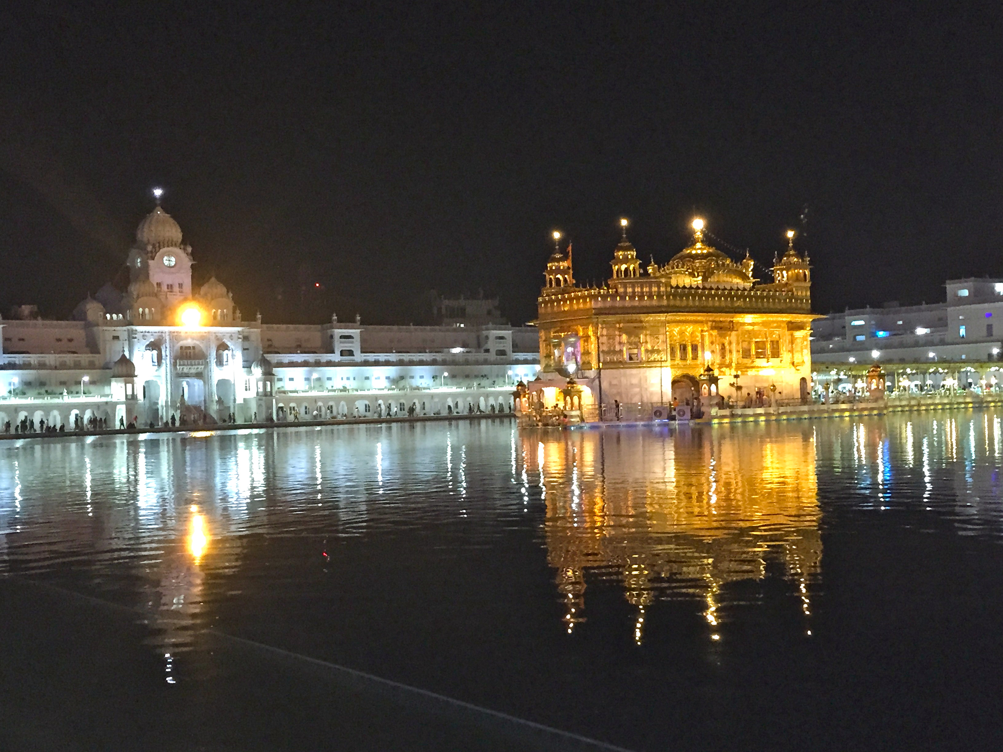 the golden temple - among the most positive places in the world