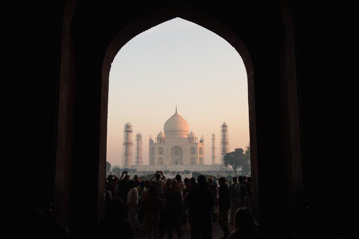 Fotoreise Indien Taj Mahal