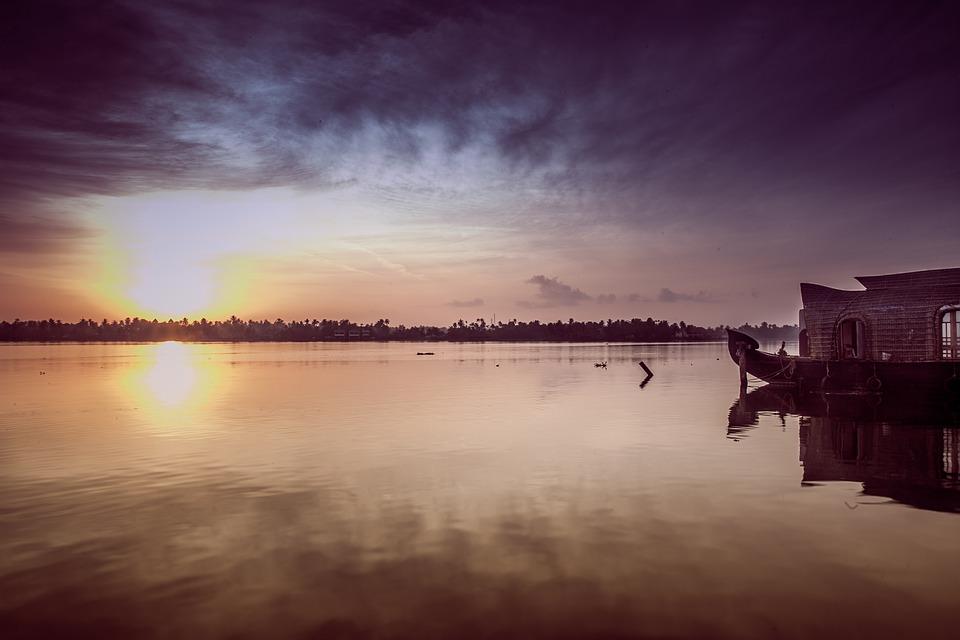 Paysage idyllique du Keralla