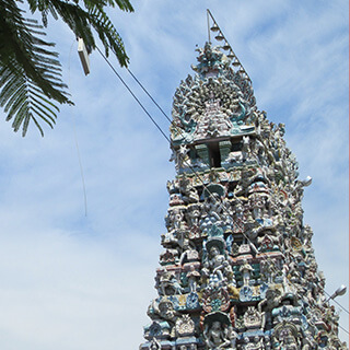 Pondicherry temple
