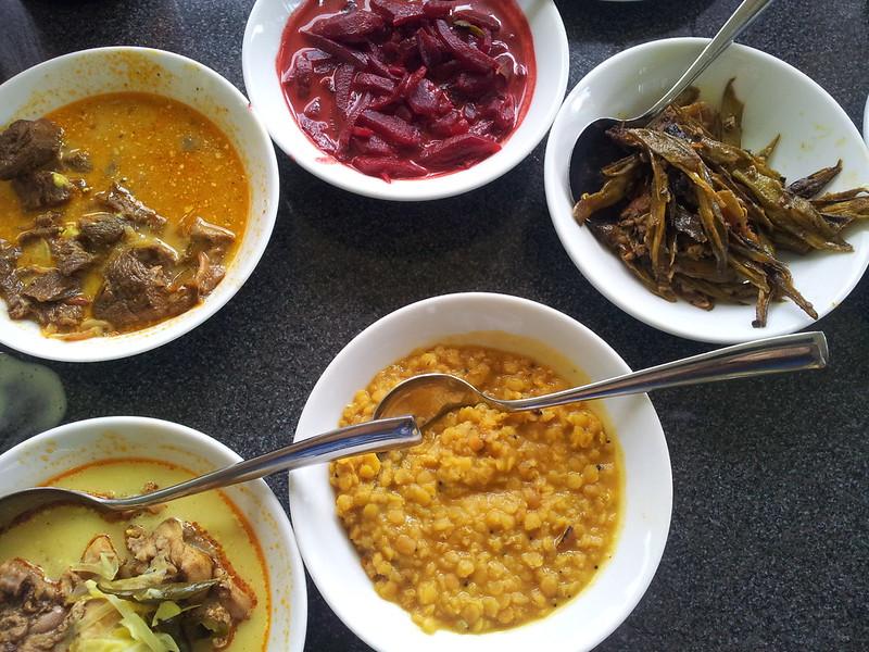 Sri Lankan Food and Indian food