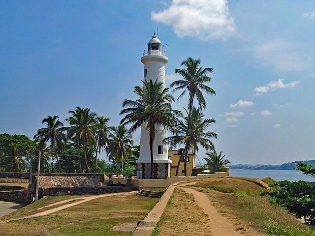 Lighthouse near the shores