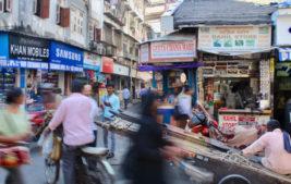 Indien basar, mumbai indien