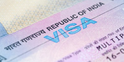 You maybe eligible for an e-visa if you're visiting India.