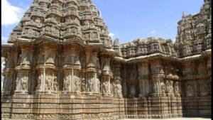 Ein hinduistischer Tempel in Mysore, Karnataka