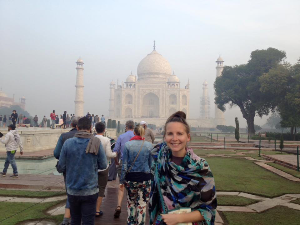 Backpacking in Indien
