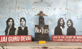 Backpacking in North India - Rishikesh, The yoga capital, Beatles Aashram