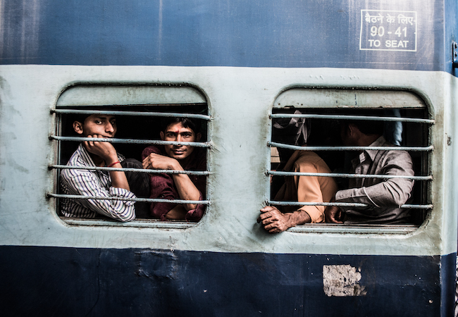 Trains are filled with interesting people, so interacting with them can pass time quite easily , Trains in North India