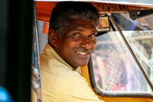 Booking a car and driver in India