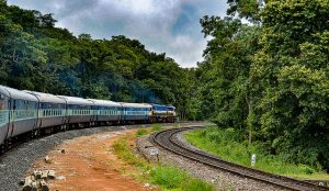 Different train options for South India,
