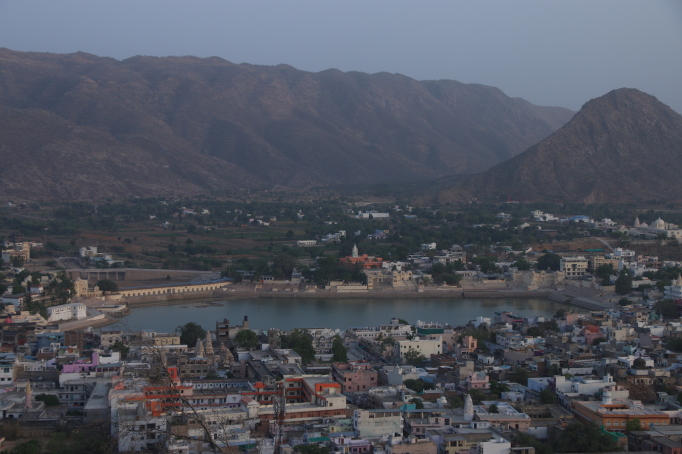 places to visit in Rajasthan, Pushkar hippie town