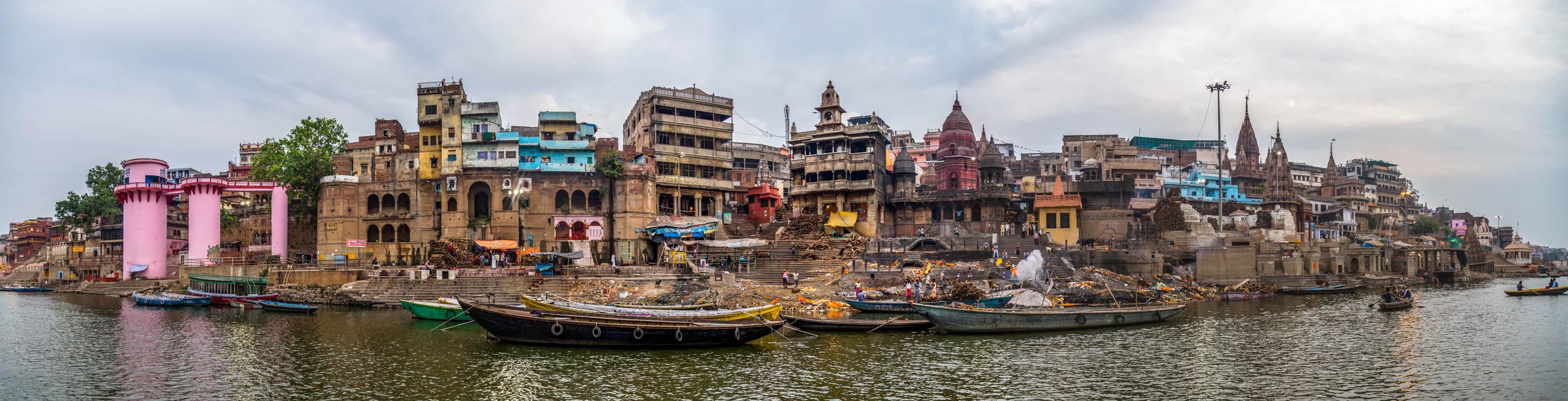 Varanasi, India Indien Urlaub