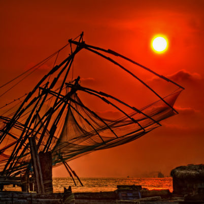 Fort Kochi in Südindien