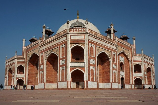 The tomb of the Mughal Emperor- Humayun's Tomb