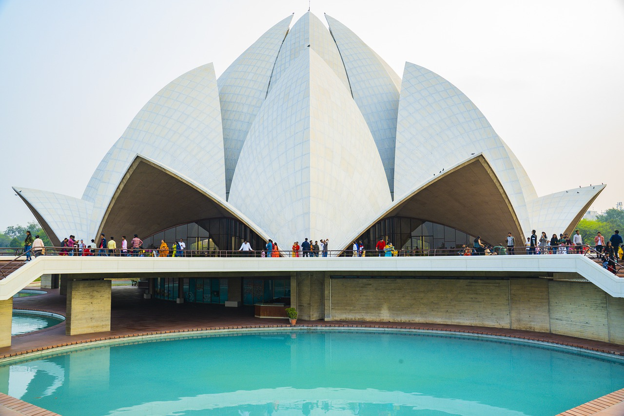 Lotus Temple, Things to do in India