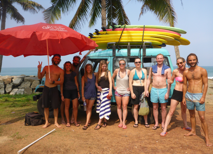 Surfen Indien
