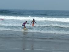 kovalam surf club, surflehrer indien