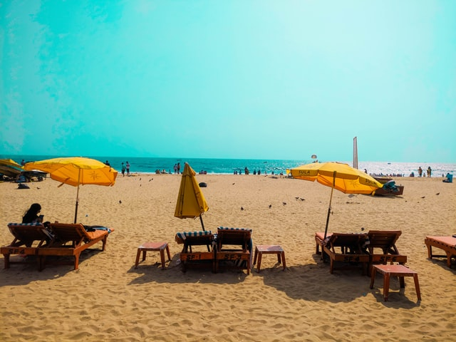Stunning beaches of Goa, Goa in Monsson