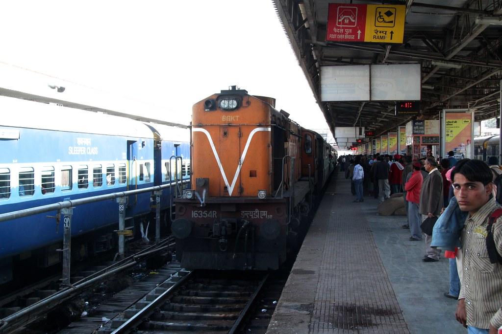 Train Travel to Jaipur
