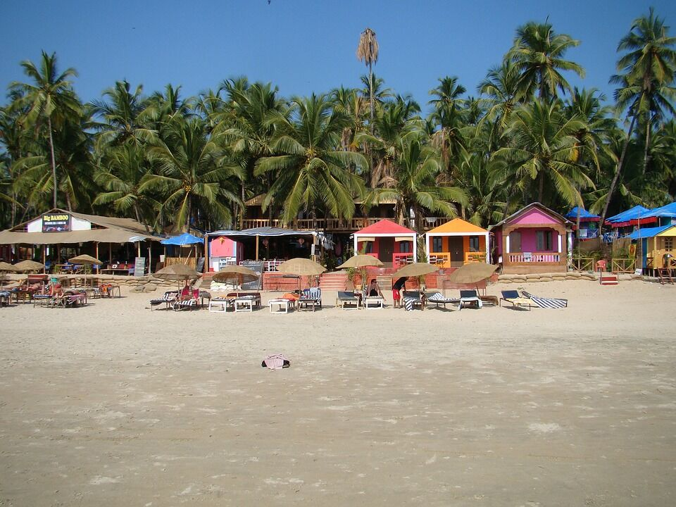 Beaches of Goa, India