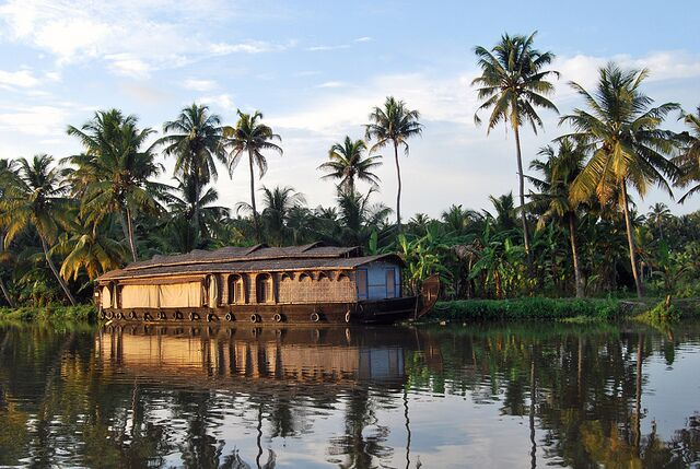 Backwaters of South India