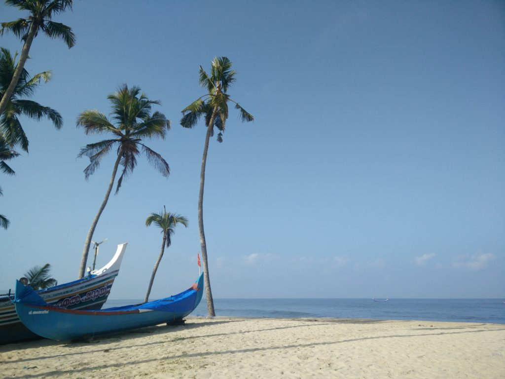 Kerala beach, que ver en la india