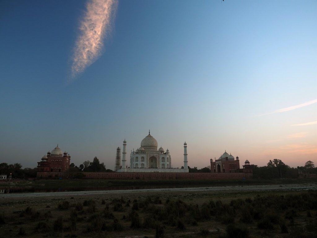 inde du nord - Taj mahal à Agra
