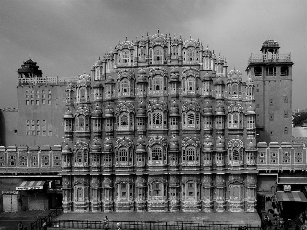 inde du nord - Palais des vents à Jaipur