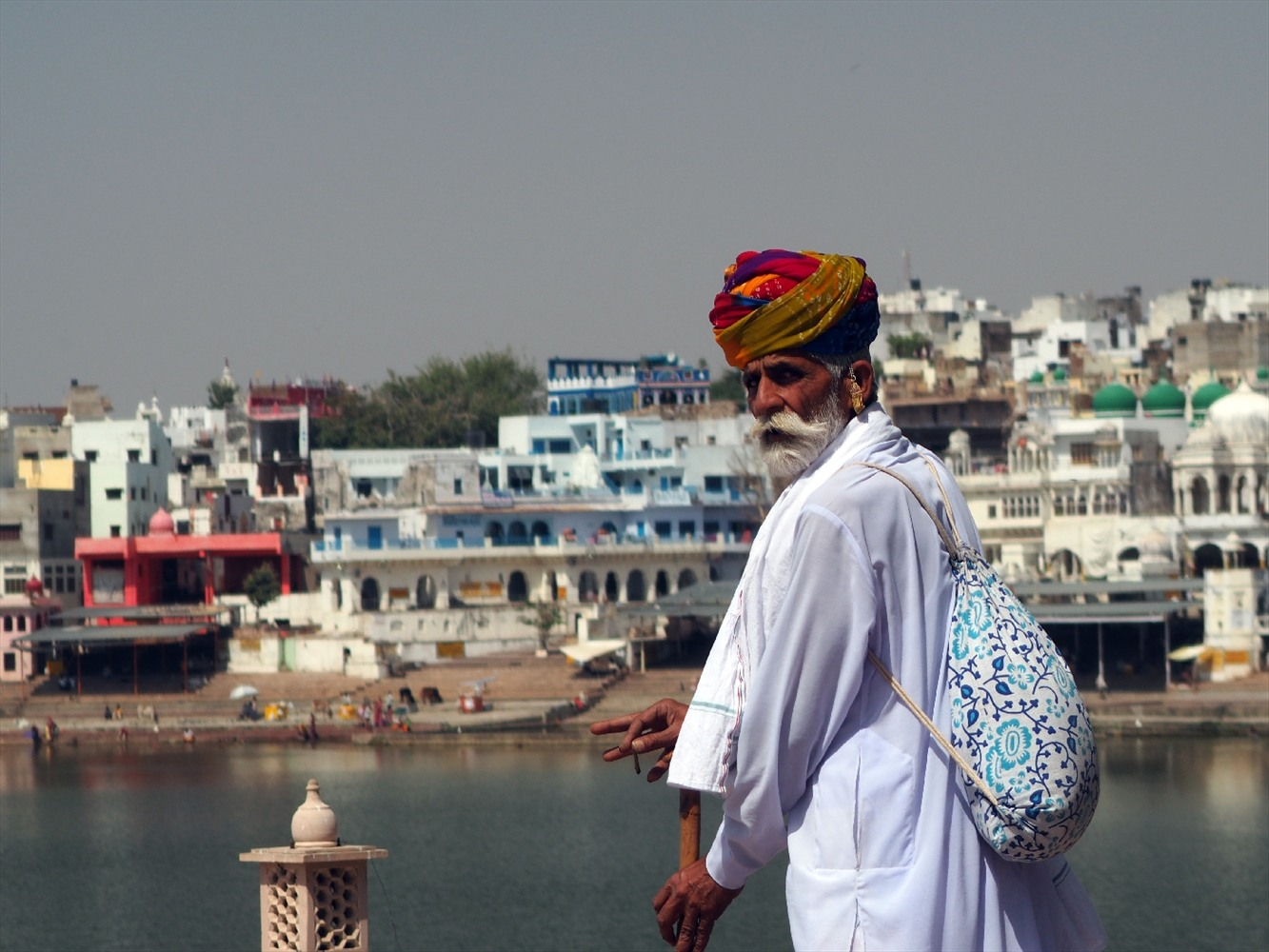 Pushkar_Rajasthan, india in january